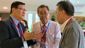 Scientists are exchanging information on MEMS technology in a conference hosted by SHTP (Photo: SGGP)