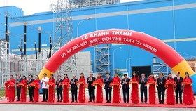 The inauguration ceremony of the Vinh Tan 4 thermal power plant on September 21 (Photo: VNA)