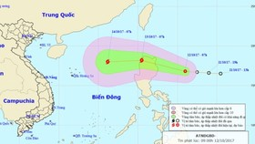 Tropical low depression will develop into typhoon