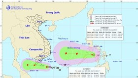 The southern & south- central territorial waters are impacted by tropical depressions