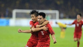 Sticker Duc Huy scores in the 26th minutes of the first match