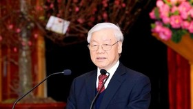 Party General Secretary and President Nguyen Phu Trong (Photo: VNA)