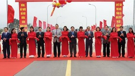 Binh Ca Bridge linking whole road of Ho Chi Minh from Cao Bang to Ca Mau province is inaugurated