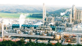 Dung Quat oil refinery (Photo: SGGP)