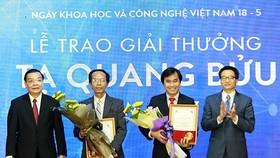 Three scientists receive Ta Quang Buu Awards 2019