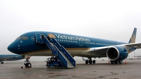 Many domestic flights of Vietnam Airlines are  canceled due to storm Wipha (Illustrative photo:SGGP)