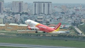 Vietjet is named in Forbes' top 50 listed Vietnamese companies. (Source: VNA)