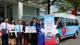 Tặng xe 1 tỷ đồng để tiếp nhận hiến máu lưu động