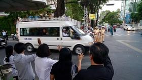 Lễ truy điệu và di quan Phó Chủ tịch UBND TPHCM Nguyễn Thị Thu