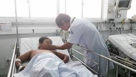 Bệnh nhi điều trị sốt xuất huyết Dengue  tại Bệnh viện Nhi đồng 1