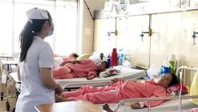 Bệnh nhân đang điều trị tại Bệnh viện Chợ Rẫy
