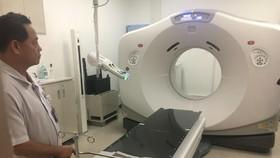 Hệ thống xạ trị tại Trung tâm
