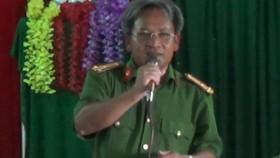 Thi hành kỷ luật đối với Trưởng công an huyện Bình Sơn