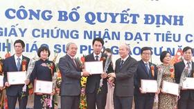 Một buổi lễ công bố quyết định phong GS và PGS của Hội đồng Chức danh GS Nhà nước