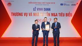 Masan Group là công ty có chiến lược M&A tiêu biểu nhất thập kỷ (2009-2018)