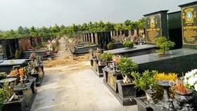 Các diện được mai táng tại Nghĩa trang Chính sách TPHCM