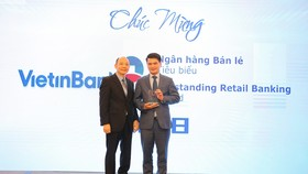 VietinBank nhận cú đúp giải thưởng bán lẻ năm 2018