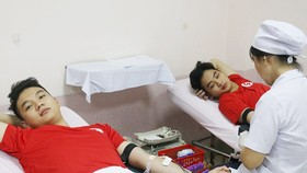 Lo ngại thiếu máu dịp tết