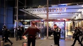 Báo động bom giả, văn phòng CNN ở New York lại sơ tán