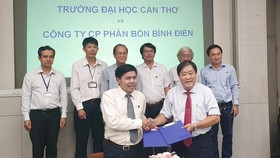 Công ty Bình Điền và ĐH Cần Thơ hợp tác hỗ trợ cho nông dân ĐBSCL