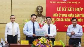 Saigontourist hợp tác chiến lược với tỉnh Nghệ An