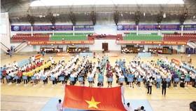 Hội thao XSKT khu vực miền Nam lần thứ VIII - năm 2019 tại tỉnh Hậu Giang