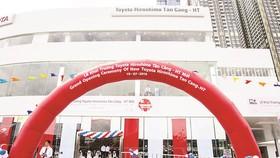Khai trương Showroom Toyota Hiroshima Tân Cảng - HT do Hòa Bình làm tổng thầu