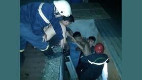 Cứu 1 người trong vụ cháy nhà dân tại quận Gò Vấp