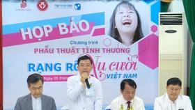 Bệnh viện Răng Hàm Mặt TPHCM và Saigon Co.op hợp tác phẫu thuật miễn phí cho trẻ em
