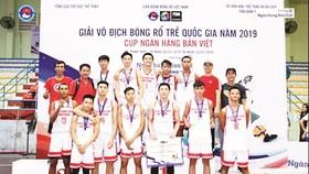 Giải Vô địch bóng rổ trẻ quốc gia năm 2019: Đội Công ty XSKT Hậu Giang vô địch U17 và á quân U19