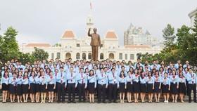 195 đại biểu đại diện cho hơn 6.200 đoàn viên từ 60 cơ sở Đoàn về dự Đại hội Đại biểu Đoàn TNCS Hồ Chí Minh Khối Dân - Chính - Đảng Thành phố lần thứ III, nhiệm kỳ 2017 - 2022.