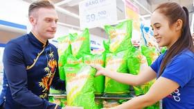 Sản phẩm gạo thông dụng - nhãn hàng riêng Co.opmart được người tiêu dùng ưa chuộng