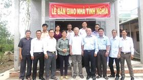 Công ty XSKT Tiền Giang trao nhà tình nghĩa