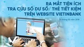 Khách hàng VietinBank sẽ an tâm khi được chủ động theo dõi, quản lý số dư tài khoản tiết kiệm của mình