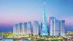 Cất nóc tòa nhà The Landmark 81 tầng, cao nhất Việt Nam