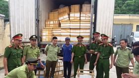 清化省公安經濟警察科查獲非法運載31隻穿山甲。(資料圖來源:環境與生活報網)