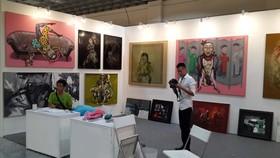 裴清心畫家的畫作2013年參加在香港舉辦的亞洲當代藝術展(Asia Contemporary Art Show)。