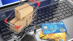 越南電子商務越來越普遍,同時也因越來越多的人喜歡在網上購物,已成為民眾每日不可或缺的一部分。(示意圖源:互聯網)