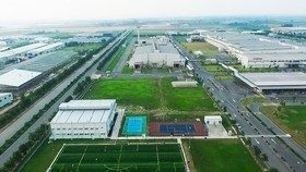 TNI-Holdings Vietnam 投建的工業園區具有現代、同步基礎設施,競爭環境和高質量服務的優勢。(示意圖源:何英)