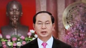 國家主席陳大光就過去一年國事進行總結。