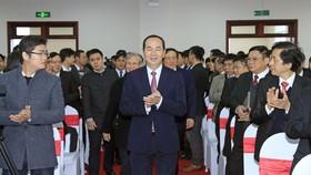 國家主席、中央司法改革指委會主任陳大光出席會議並發表指導意見。(圖源:越通社)