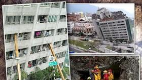 花蓮地震災情嚴重。(圖源:互聯網)