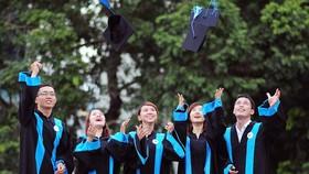 市經濟大學碩士研究生畢業日。該校是南部區域具有權威的碩士培訓單位。