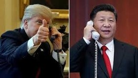 中美元首就半島局勢通電話交換意見。(示意圖源:互聯網)