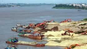 非法採砂嚴重影響沿河防洪堤壩及居民的生活安全。(示意圖源:寶林)