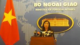 我國外交部發言人黎氏秋姮。(圖源:外交部)