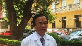 圖為越南心臟協會主席阮麟越教授。(圖源:VOV)