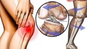 兩個動作緩解膝關節疼痛。