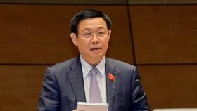 政府副總理王廷惠答詢。(圖源:VGP)