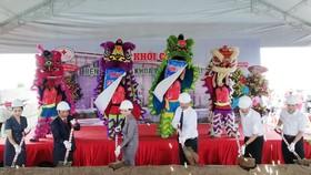 薄寮-西貢全科醫院工程動工儀式一瞥。